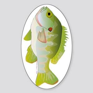 Redear Sunfish tv Sticker (Oval)