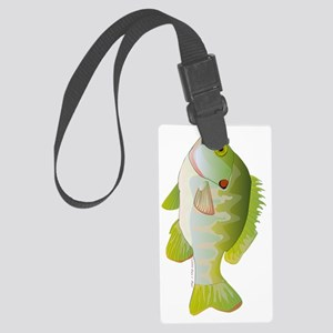 Redear Sunfish tv Large Luggage Tag