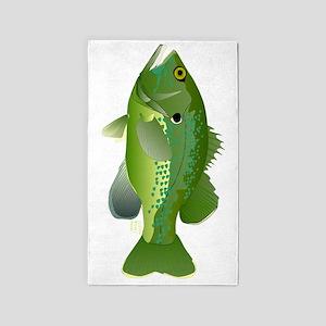 Green Sunfish v 3'x5' Area Rug