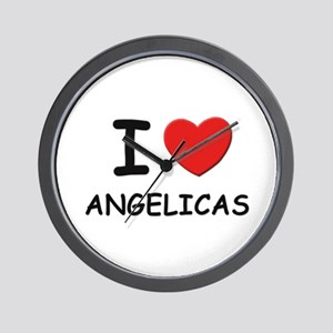 I love angelicas Wall Clock