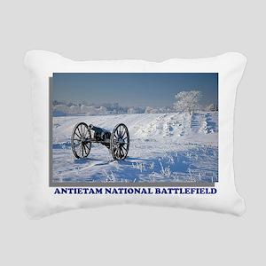 Antietam National Battle Rectangular Canvas Pillow