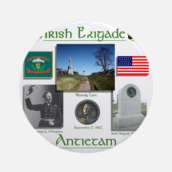 Irish Brigade_Antietam Round Ornament