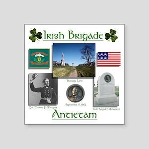 """Irish Brigade_Antietam Square Sticker 3"""" x 3"""""""