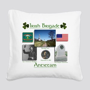 Irish Brigade_Antietam Square Canvas Pillow