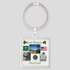 Irish Brigade_Antietam Square Keychain