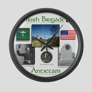 Irish Brigade_Antietam Large Wall Clock