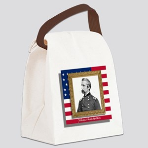 Chamberlain in Frame Canvas Lunch Bag