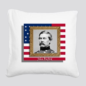 Buford in Frame Square Canvas Pillow