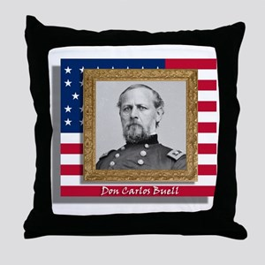 Buell in Frame Throw Pillow