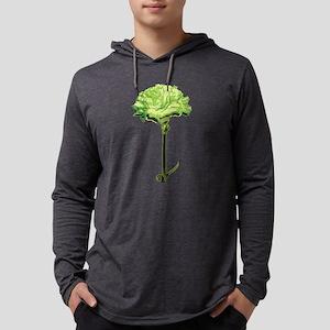 GREEN-CARNATION_NEW Mens Hooded Shirt
