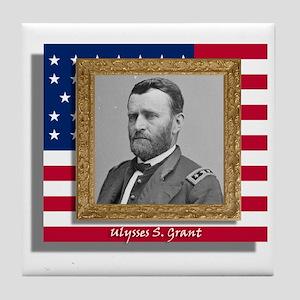 Grant in Frame Tile Coaster