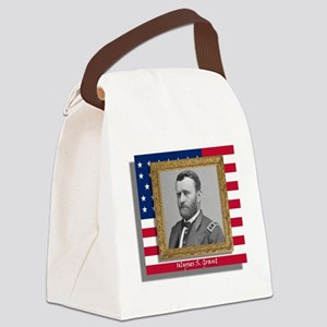Grant in Frame Canvas Lunch Bag