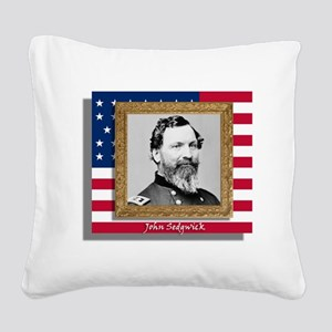 Sedgwick in Frame Square Canvas Pillow