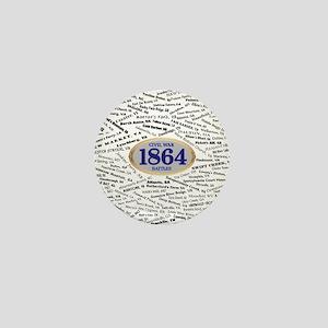 Battles - 1864 Mini Button