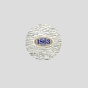 Battles - 1863 Mini Button