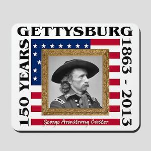 George Armstrong Custer - Gettysburg Mousepad