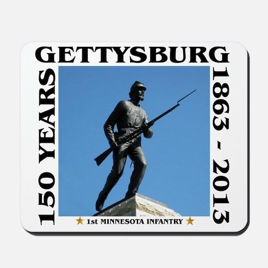 Gettysburg - 1st Minnesota Infantry Mousepad