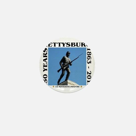 Gettysburg - 1st Minnesota Infantry Mini Button