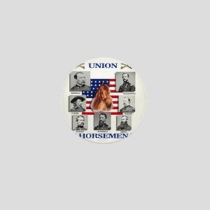 Union Horsemen Mini Button
