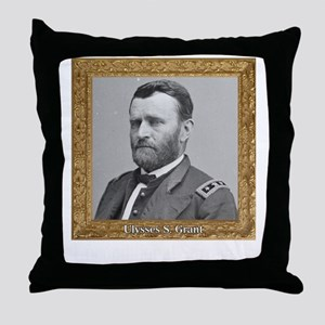 Unconditional Surrender - Grant Throw Pillow