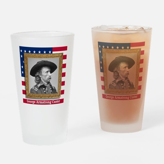 George Armstrong Custer Drinking Glass