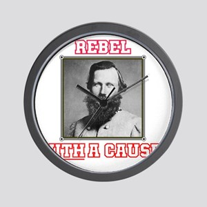 Rebel With a Cause - Stuart Wall Clock