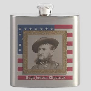 Hugh Judson Kilpatrick Flask