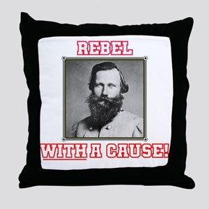Rebel With a Cause - Stuart Throw Pillow