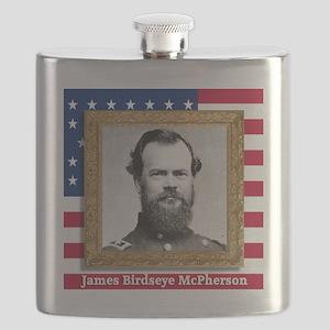 James B. McPherson Flask
