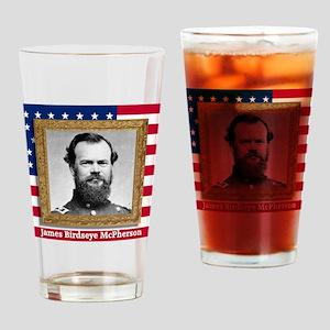 James B. McPherson Drinking Glass