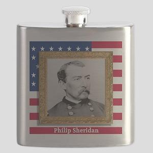 Philip Sheridan Flask