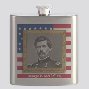 George B. McClellan Flask