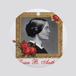Susan B. Anthony Round Ornament
