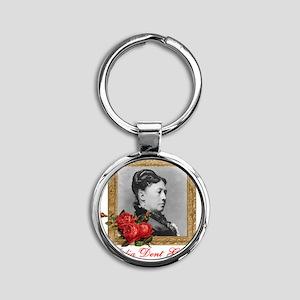 Julia Dent Grant Round Keychain