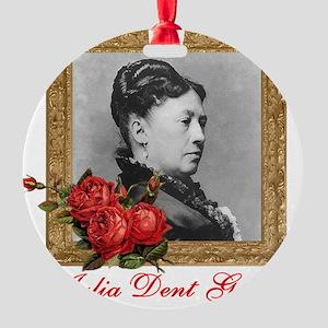 Julia Dent Grant Round Ornament