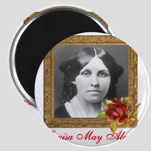 Louisa May Alcott Magnet