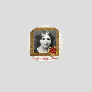 Louisa May Alcott Mini Button