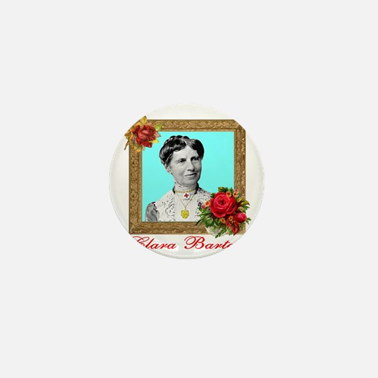 Clara Barton - Nurse Mini Button