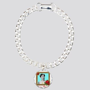 Clara Barton - Nurse Charm Bracelet, One Charm