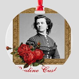 Pauline Cushman Round Ornament