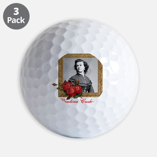 Pauline Cushman Golf Ball