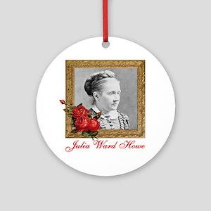 Julia Ward Howe Round Ornament