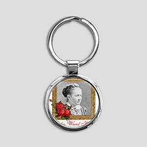 Julia Ward Howe Round Keychain