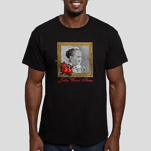 Julia Ward Howe Men's Fitted T-Shirt (dark)