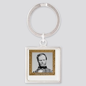 Uncle Billy Sherman Square Keychain
