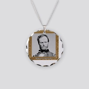 Uncle Billy Sherman Necklace Circle Charm
