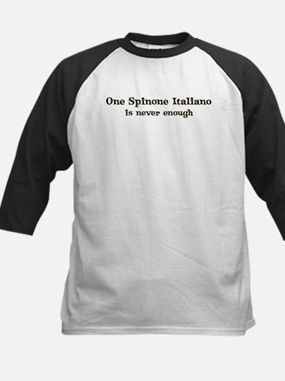 One Spinone Italiano Kids Baseball Jersey