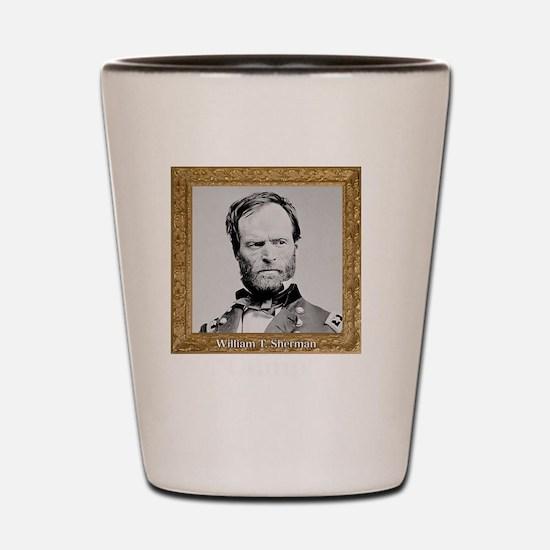Cump Sherman Shot Glass