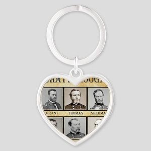Chattanooga - Union Heart Keychain