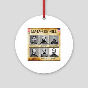 Malvern Hill - Union Round Ornament